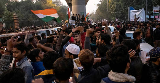 Inde: les musulmans mobiliséscontre la loi sur la citoyenneté