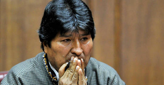 Bolivie: un mandat d'arrêt lancé contre Evo Morales