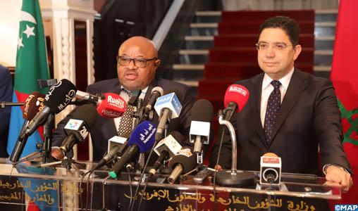 M. Bourita souligne la dynamique «positive» de la question du Sahara