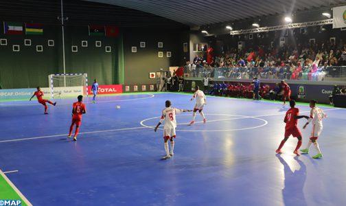 CAN de Futsal à Laâyoune (Groupe A): Guinée équatoriale-Ile Maurice (4/2)